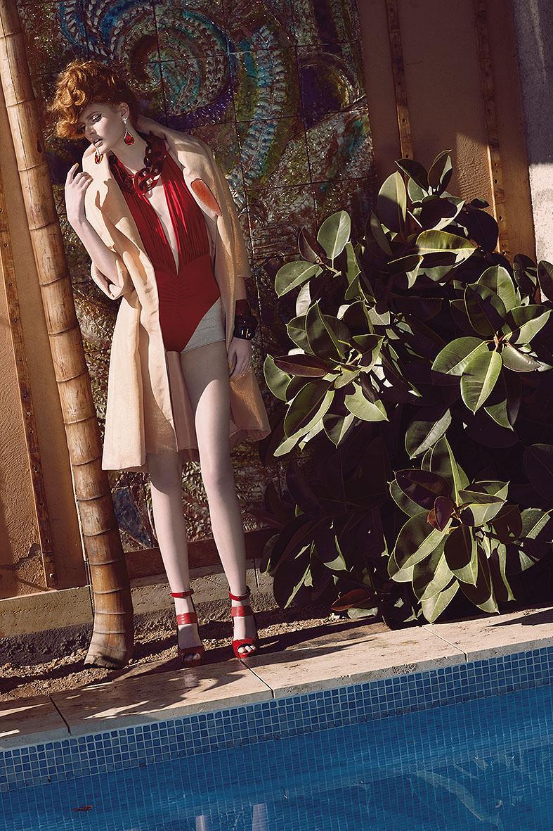 Muse on a sunday morning by Toni Mateu